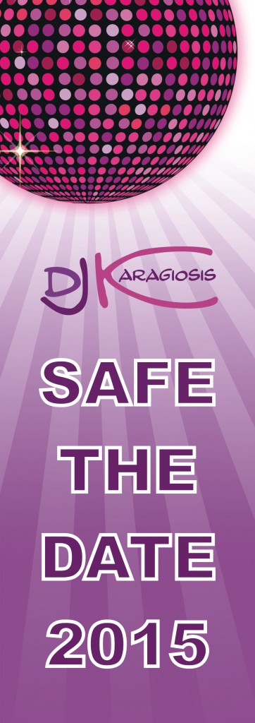SAFE THE DATE 2015