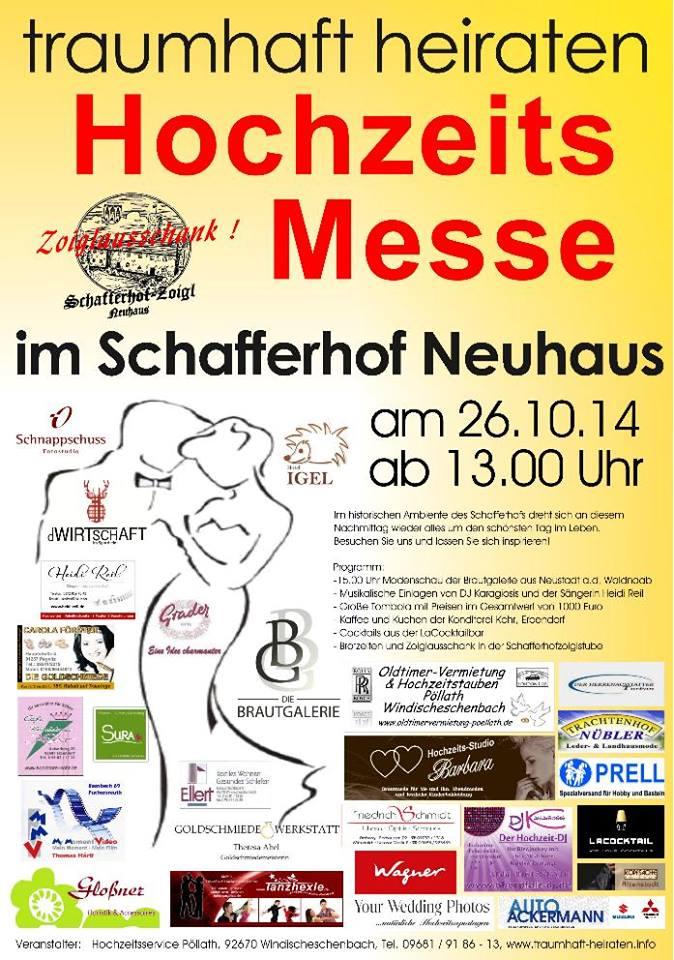 Hochzeitsmesse Schafferhof 2014