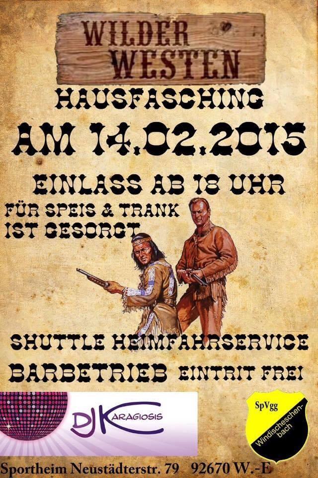 Hausfasching 14.02.2015