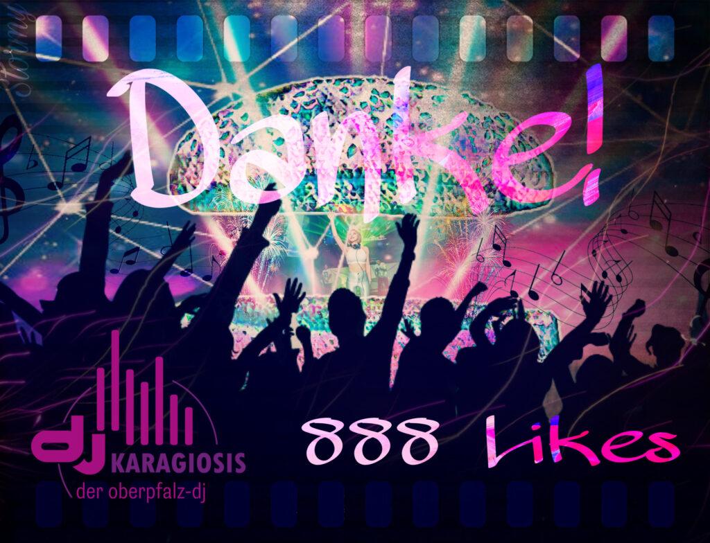 888 Likes